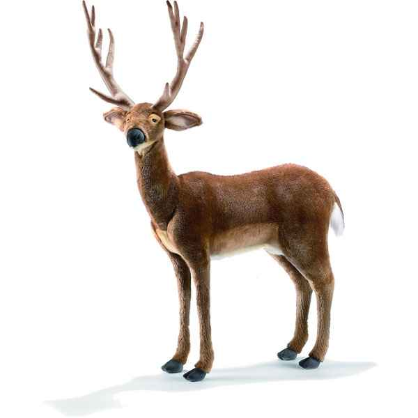 Anima - Peluche cerf 75 cm de long-4509