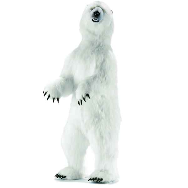 Anima - Peluche ours polaire dress� 150 cm -3650