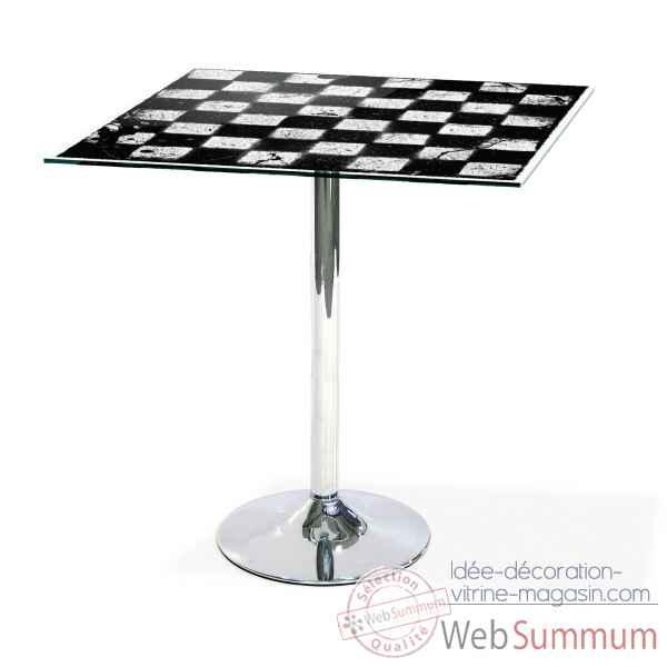 Valet de chambre design acrila 0064 dans mobiliers de for Table mange debout fly