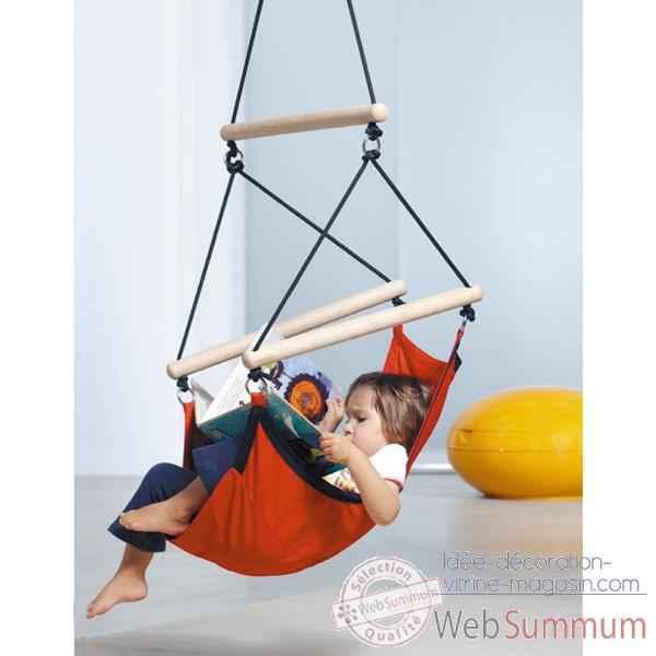 hamac fauteuil pour enfant kid 39 s swinger az 2030480. Black Bedroom Furniture Sets. Home Design Ideas