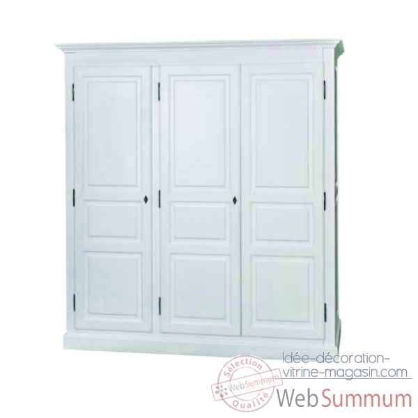 Armoire 3 portes Antic Line -CD532