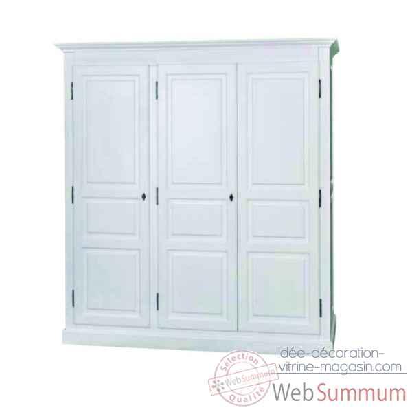Armoire 3 portes antic line dans ameublement sur id e - Antic line meubles ...