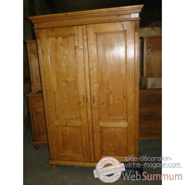 Armoire 2 portes Antic Line -MP08114