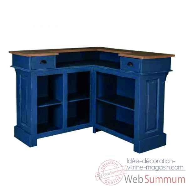 bar d 39 angle pub plateau bois antic line cd547 de d coration jardin. Black Bedroom Furniture Sets. Home Design Ideas