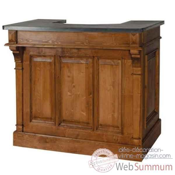Commode 3 tiroirs boutons bois antic line t38 de meuble - Antic line meubles ...