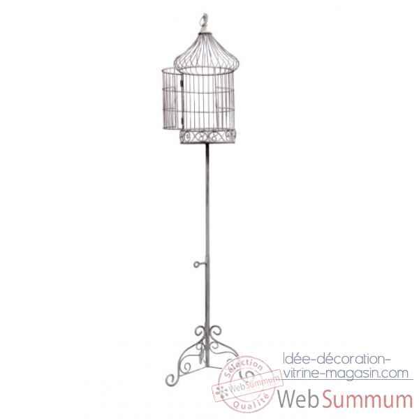cage oiseaux sur pied antic line dans ameublement de meuble ambiance magasin. Black Bedroom Furniture Sets. Home Design Ideas
