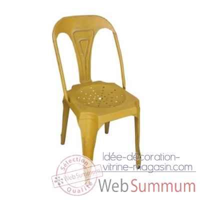 Chaise jaune antic line cd488 dans ameublement sur id e - Antic line meubles ...