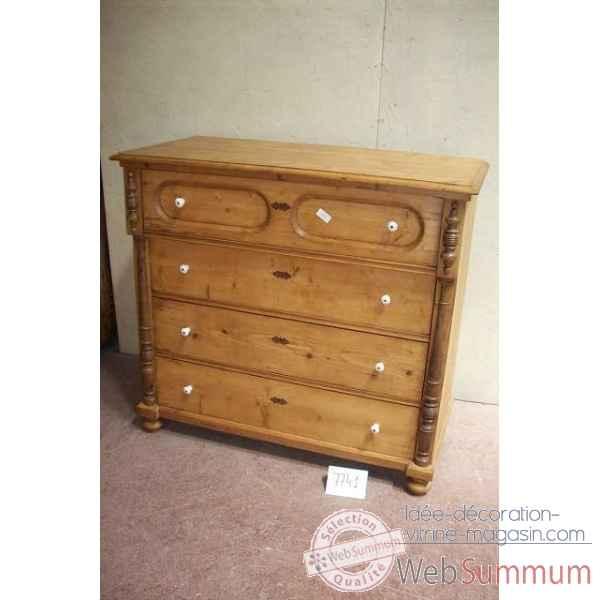 Commode 4t antic line dans meuble classique sur id e - Antic line meubles ...