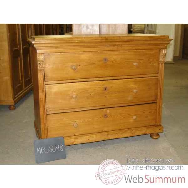 Commode 3 tiroirs antic line dans meuble classique de - Antic line meubles ...