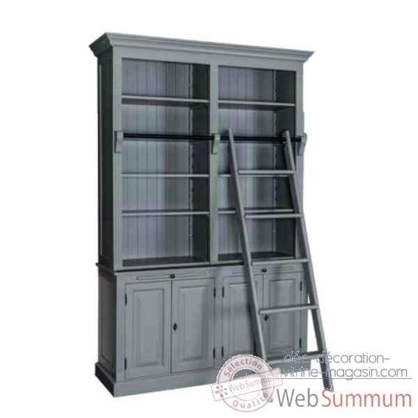 Meuble 4 portes 2 tiroirs avec tirettes antic line de - Antic line meubles ...