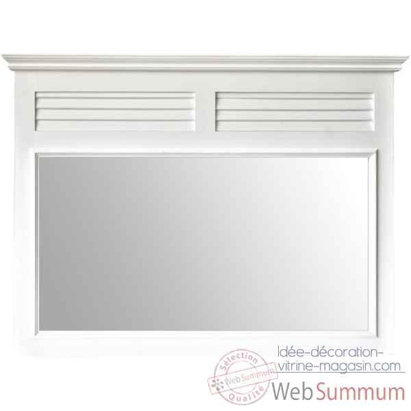 Miroir gm persienne antic line cd433 de meuble ambiance - Antic line meubles ...
