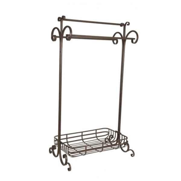 Porte serviettes antic line dans objet de d coration de - Antic line meubles ...