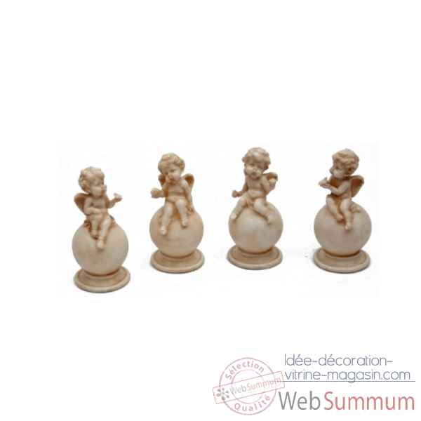Set 4 anges Antic Line -SEB11314