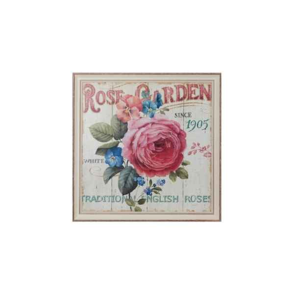 Tableau rose garden Antic Line -SEB11884