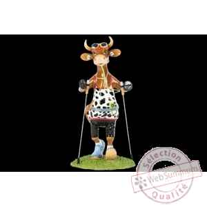 Figurine Vache 20cm i'm walking Art in the City 84144