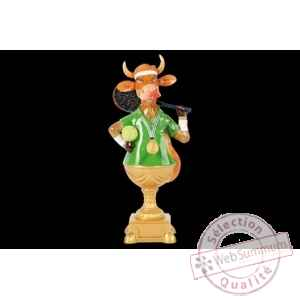 Figurine Vache 20cm match point Art in the City 84140