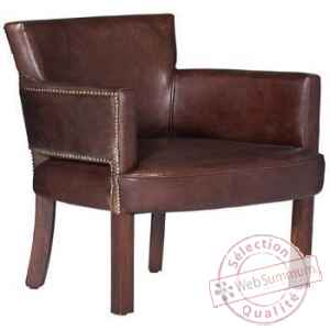 Chaise newarc en cuir couleur whisky arteinmotion -sed-new0033