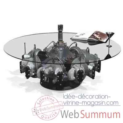 Table moteur radial continental avec support Arteinmotion AIR-TAV0033