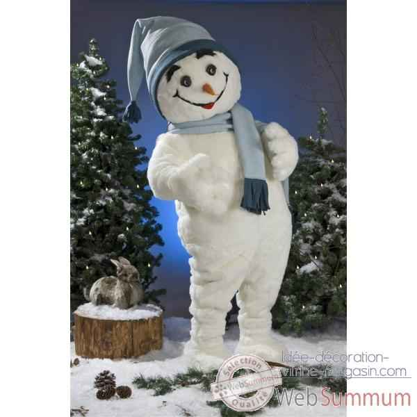 Decoration noel exterieur bonhomme de neige