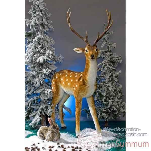 cerf decoration noel