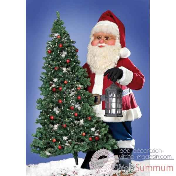 Automate p re no l g ant int rieur et ext rieur 504 u for Pere noel decoration exterieur