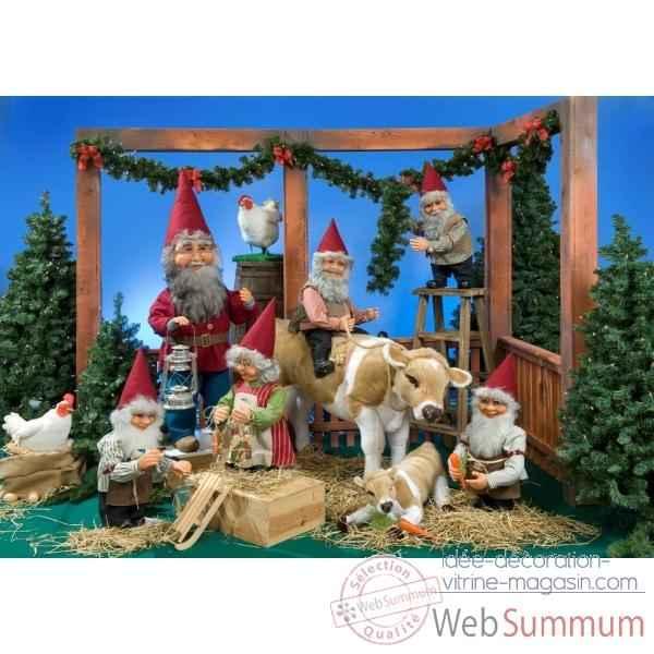 Automate Père Noël dans Automate sur Idée décoration vitrine magasin