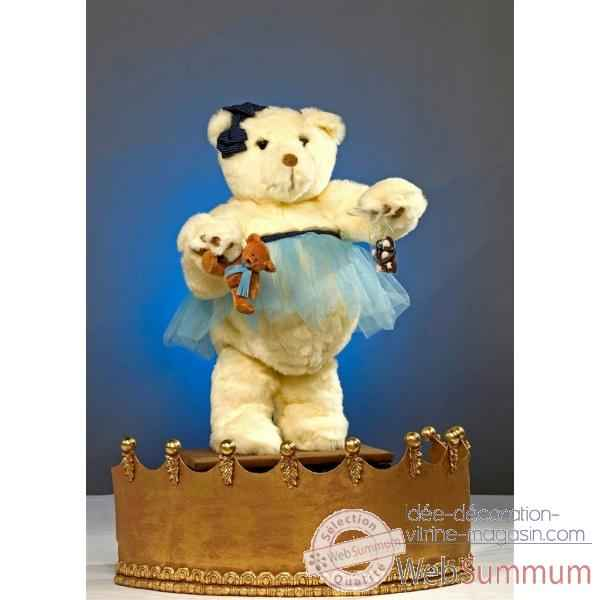 Automate - teddy bear fille Automate Decoration Noel 853