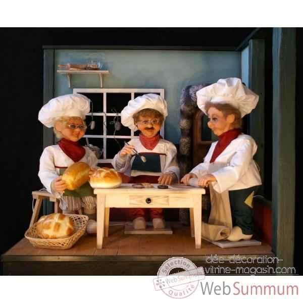 Achat de boulanger sur id e d coration vitrine magasin - Idee deco boulangerie ...