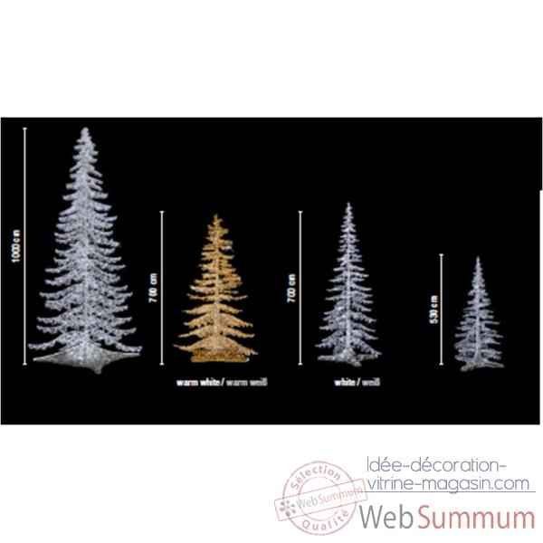 Decoration de noel led for Sapin led interieur