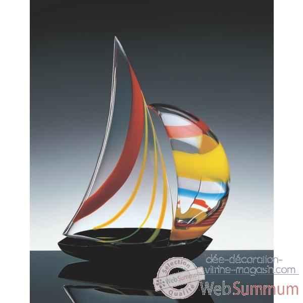 bateau voile en verre formia v46914 dans maquette bateau de vitrine voyage sur id e. Black Bedroom Furniture Sets. Home Design Ideas
