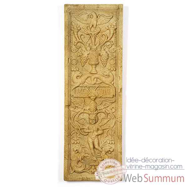 Decoration murale-Modele Angel Wall Decor, surface rouille-bs3089rst