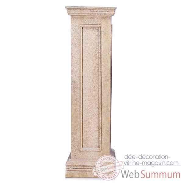 piedestal et colonne pierre dans piedestale et colonne de terrasse sur id e d coration vitrine. Black Bedroom Furniture Sets. Home Design Ideas