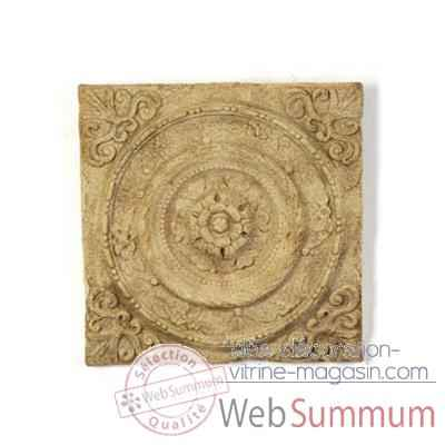 Decoration murale Rondelle Wall Plaque, rouille -bs3166rst