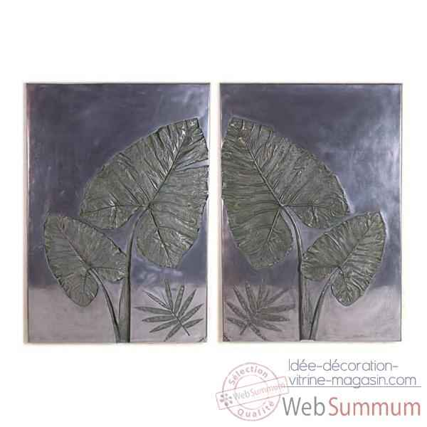 Video Decoration murale Taro Wall Plaque Set, aluminium -bs4100alu