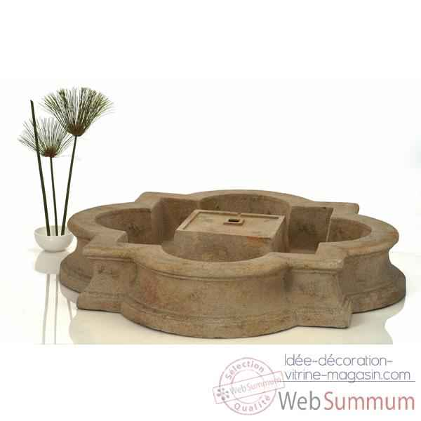 Fontaine Madrid Fountain Basin, granite -bs3160gry