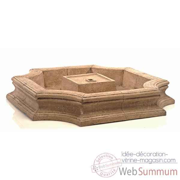 Fontaine Bath Fountain Basin, pierre romaine -bs3192ros