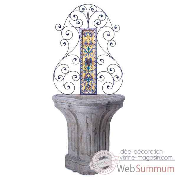 Fontaine Porto Fountain, granite -bs3195gry