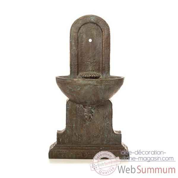 Fontaine Helene Fountain, granite et bronze -bs3386gry -vb