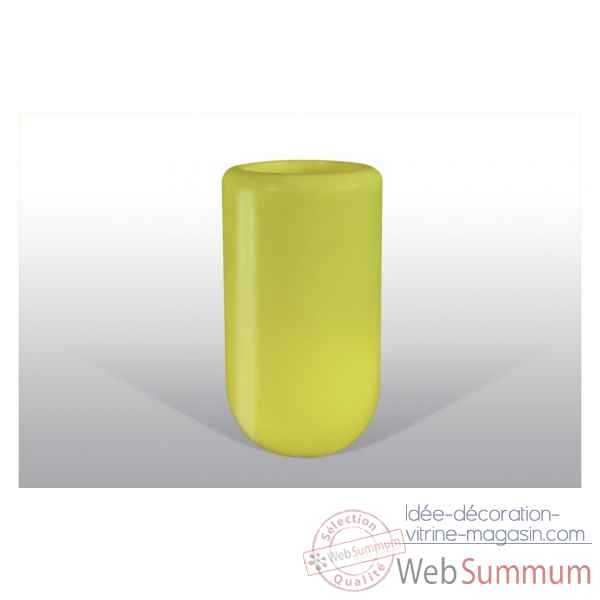 Pot fleu pill 70 cm jaune Bloom -BLOOM55