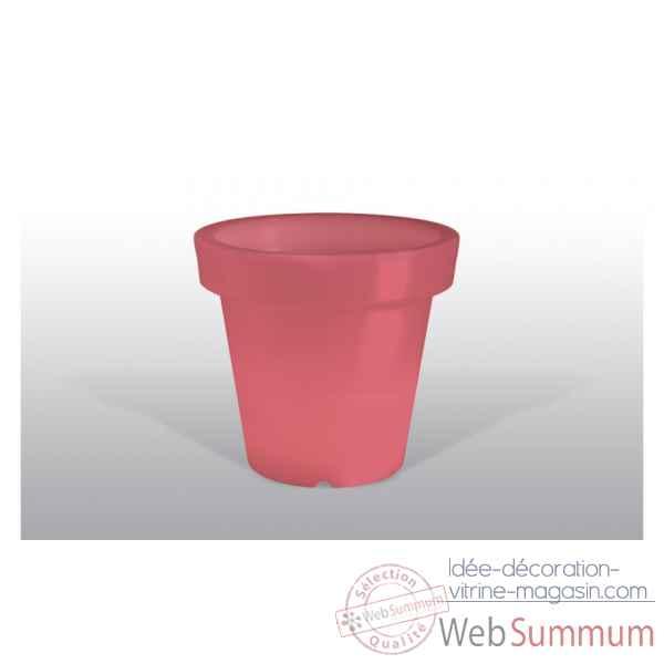 Pot fleur lampe 100 cm rouge bloom bloom61 dans d co noel for Pot rouge exterieur