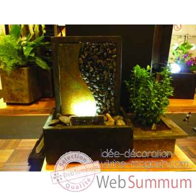 fontaine d'interieur - eclairage par led inclus Cactose -2205 LE