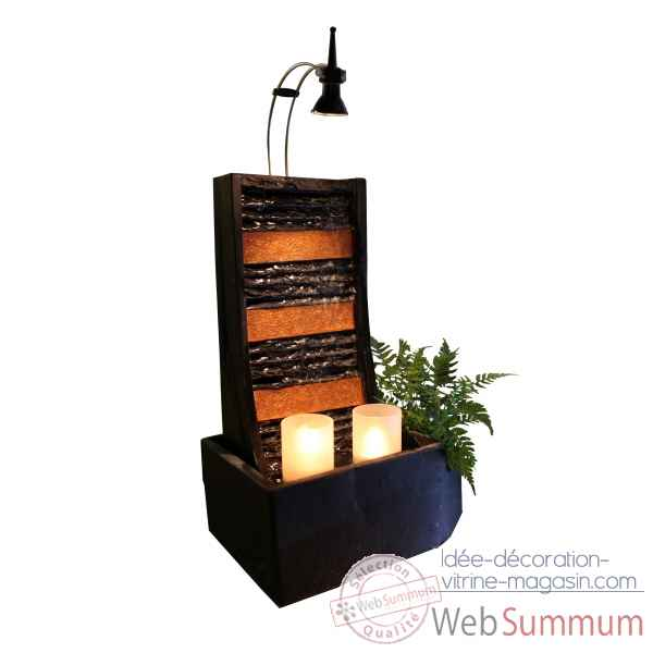 fontaine d'interieur (lumiere 3954 en option) Cactose -2202