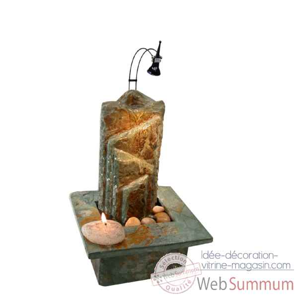 fontaine d'interieur (lumiere 3954 en option) Cactose -3703