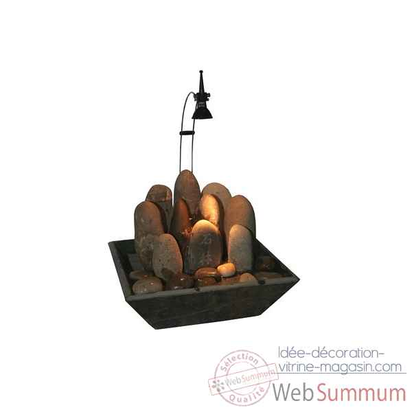 fontaine d'interieur (lumiere 3954 incluse) Cactose -39480 L