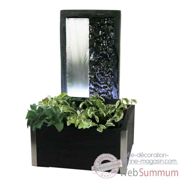 Fontaine d 39 int rieur lumi re 3954 en option cactose sur id e d coration vitrine magasin - Fontaine d appartement zen ...