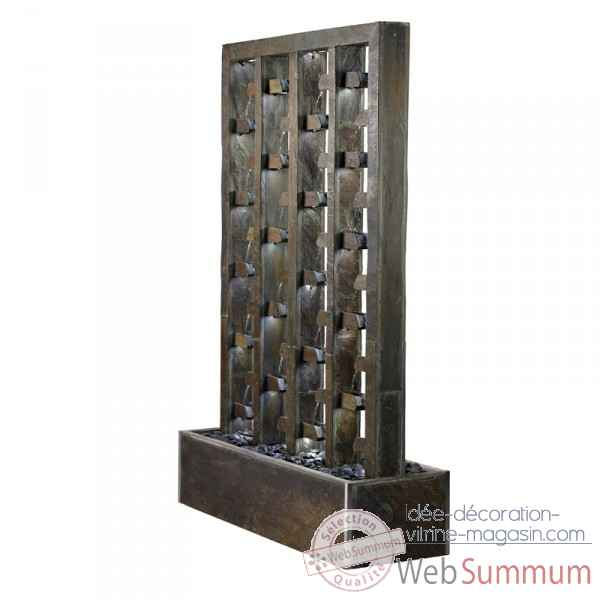 mur d 39 eau et fontaine sur id e d coration vitrine magasin. Black Bedroom Furniture Sets. Home Design Ideas