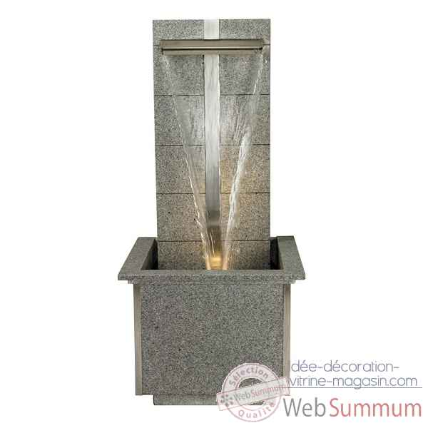Fontaine ext rieur int rieur cactose 76732 w4lex dans mur for Decoration fontaine exterieur