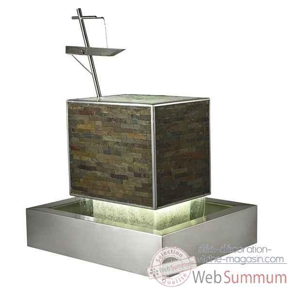 Fontaine DInterieur Zen Avec Led Inclus Cactose Le Dans Mur D
