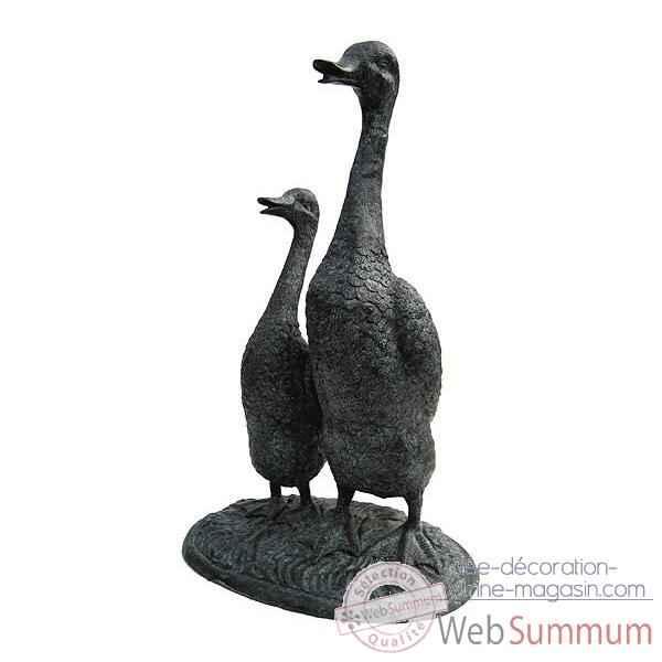 Canard en bronze brz637 dans animaux de la foret sur id e d coration vitrine magasin - Canard decoration accessoire ...