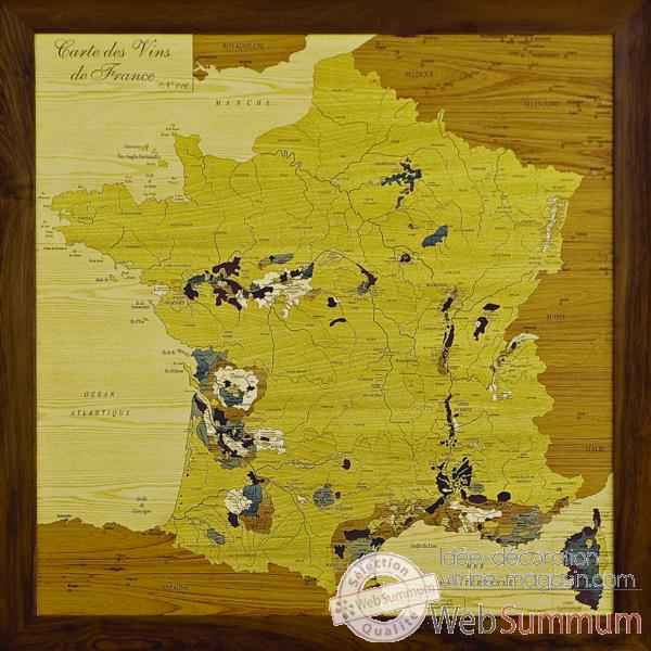 Carte des vins de France Creartion -vdf